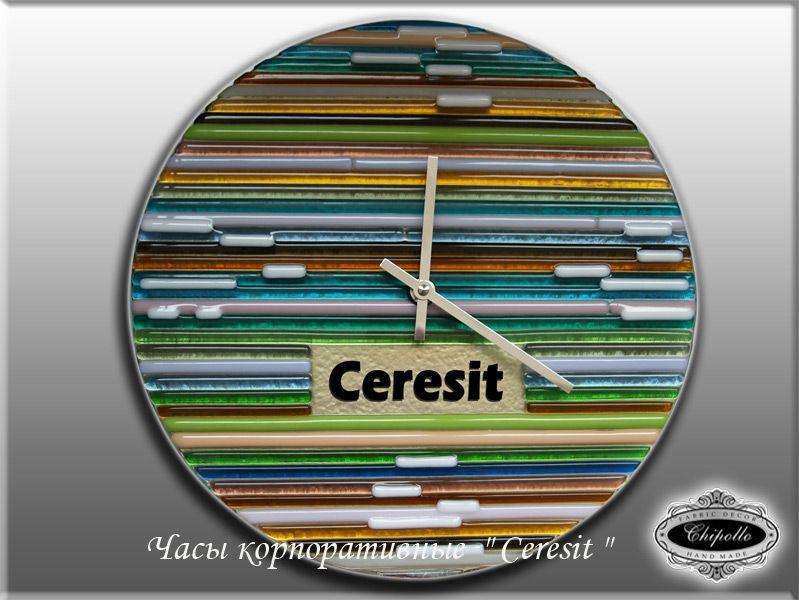 витражные часы Ceresit