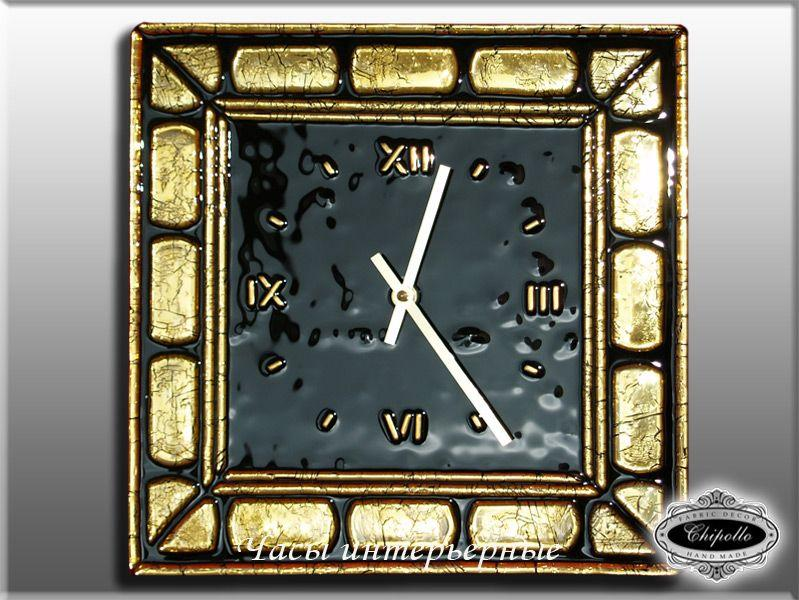 часы в золоте