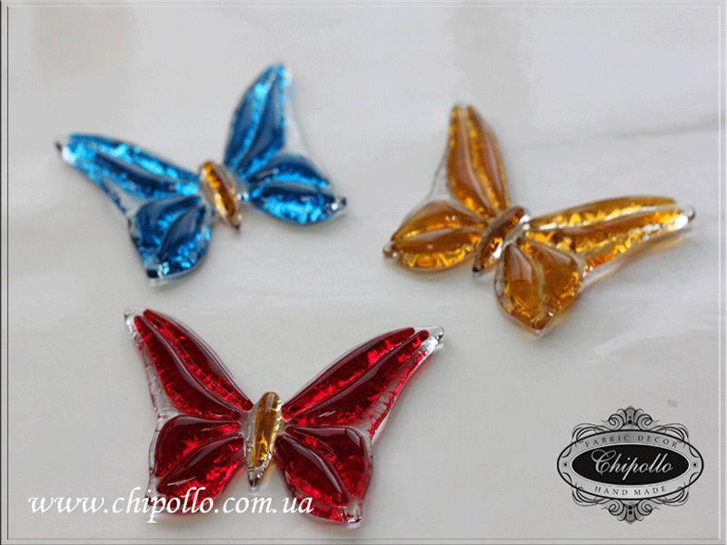 цветные бабочки (фьюзинг)
