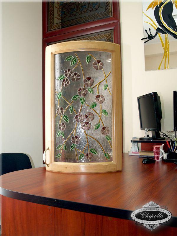 витражное стекло для кухни