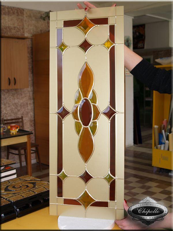 витражные стекла для кухонных фасадов (фото)