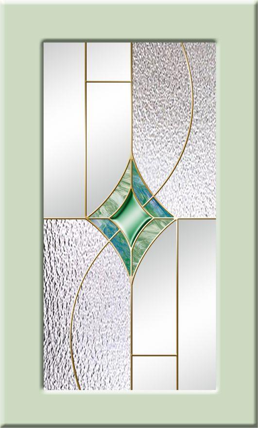 витражные стекла для кухонных фасадов (салатовый)