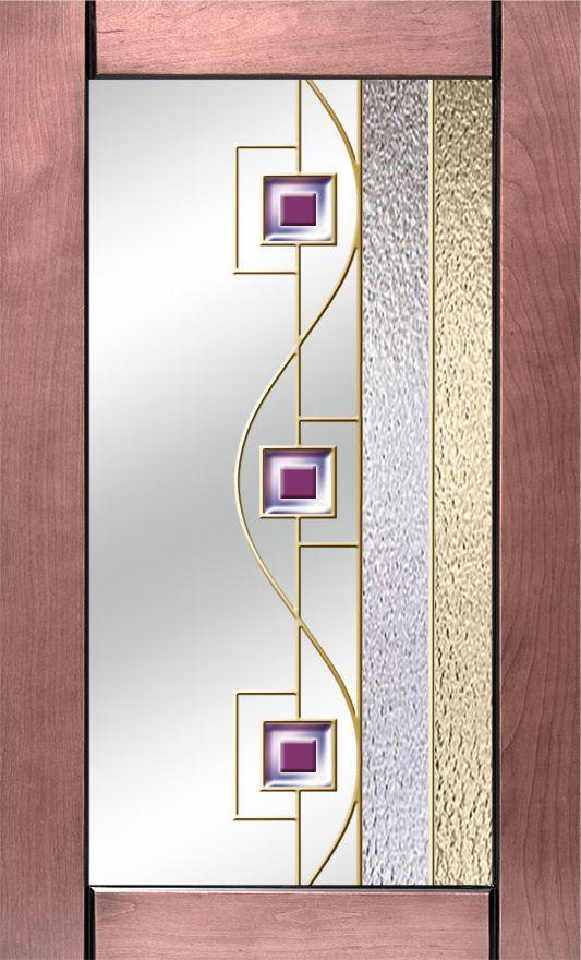 витражные стекла для кухонных фасадов с золотом