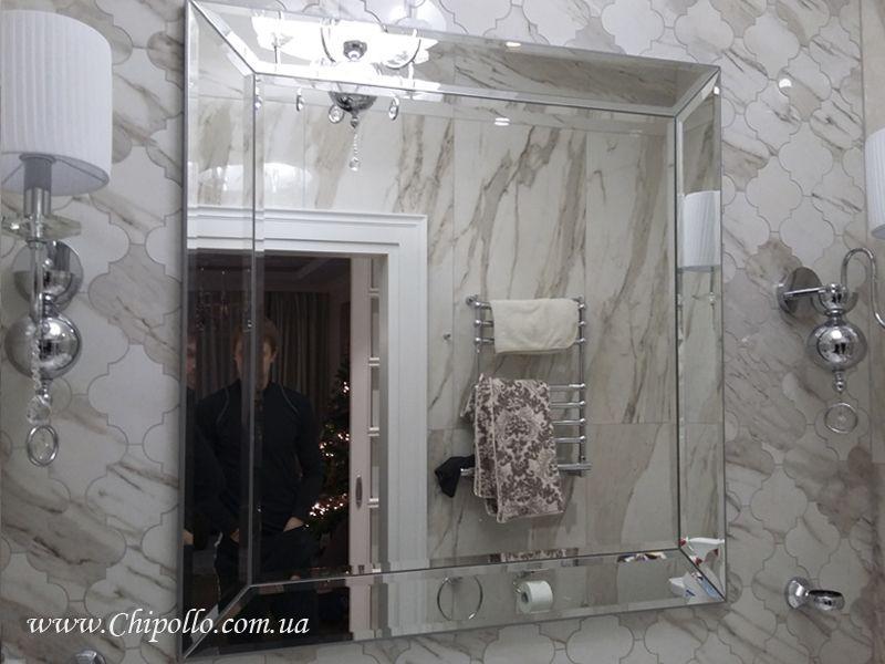 декоративное зеркало с рамой