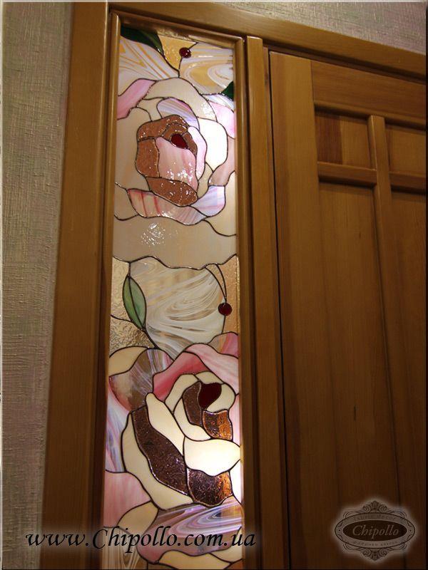 декоративное окно (цветное стекло)