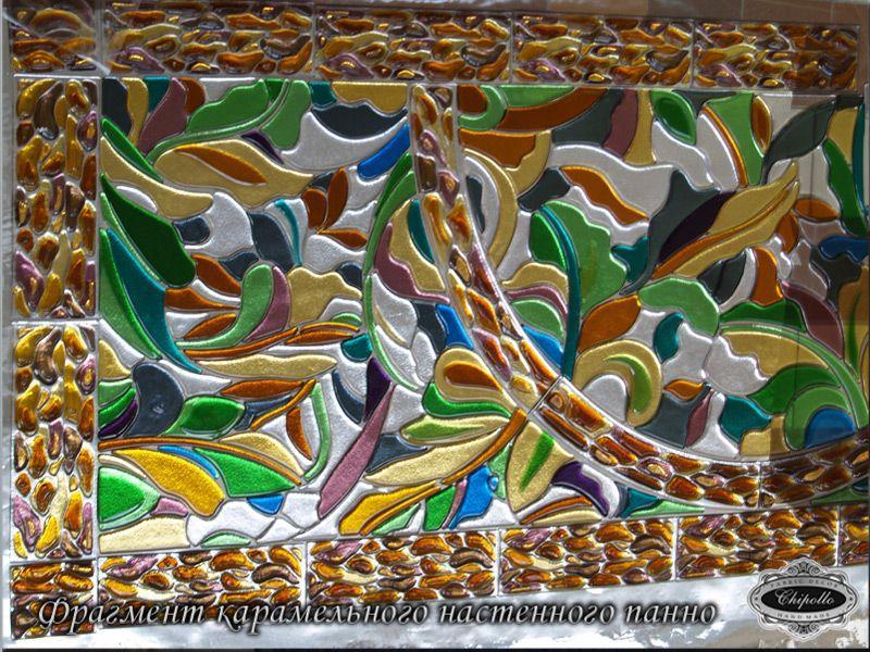 декор из цветной мозаики