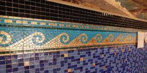 мозаика с золотом