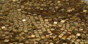 золотая мозаика (мелкая)